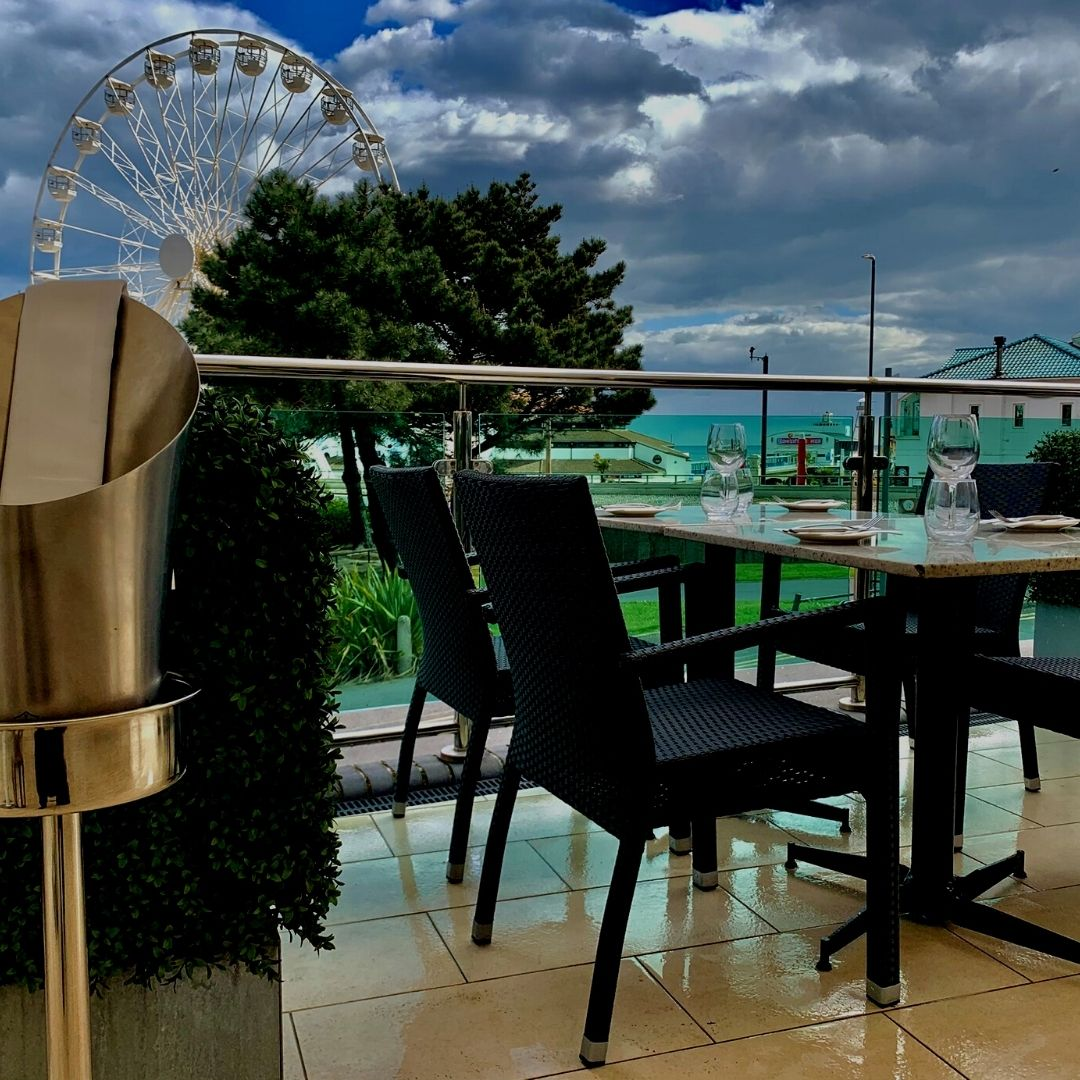NEO terrace dining bournemouth eye view